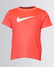 Nike NKB Faux Heather Drifit SS Tee Orange