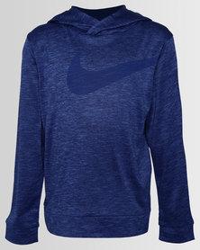 Nike NKB Drifit Swoosh Pullover Royal