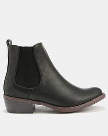 Utopia Chelsea Boots Black