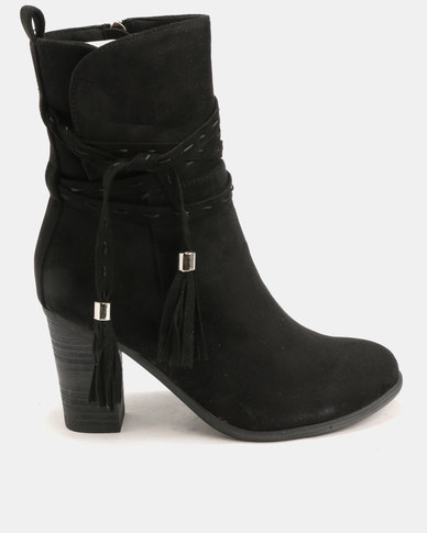 Utopia Utopia Stack Heel Boots Black explore for sale wide range of sale online real cheap price clearance exclusive ko4bE