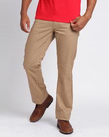 Samson Basic 5 Pocket Twill Trousers Khaki