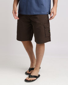 Jeep 28cm Belted Shorts Tabacco