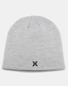 Hurley One & Only Beanie Heather Grey