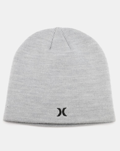 807a435c8e638 ... sale hurley one only beanie heather grey 1e5cb 00105