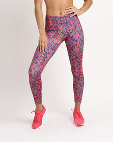Puma Performance All Eyes On Me Mesh Tights Pink