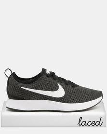 Nike Men's Dual Tone Racer Sneakers Dark Grey & White
