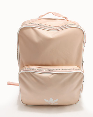 adidas Classic Medium Adicolour Backpack Blush Pink  555efccf3fca4