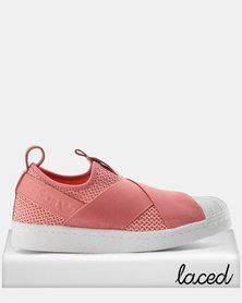 adidas superstar rose clair et blanche