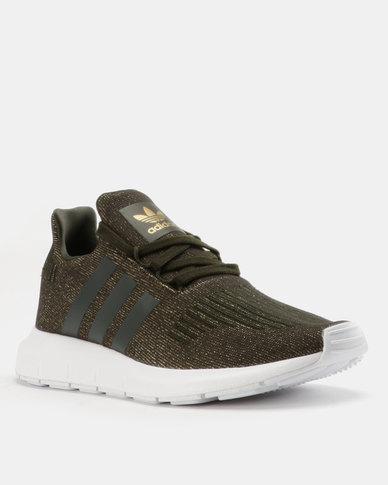 d2b5bddc28c11 adidas Swift Run Womens Sneakers Green