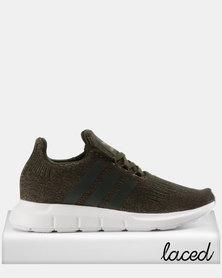 adidas Swift Run Womens Sneakers Green