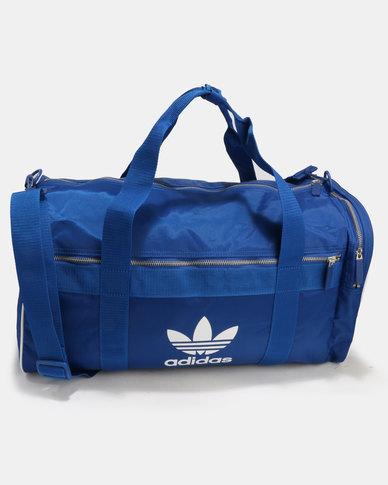 adidas Duffle Bag Medium Adicolour Blue  4d05db823e8d