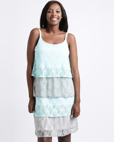 UB Creative Layered Lace Dress