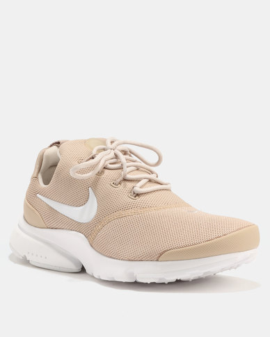 buy popular 1e213 621ab Nike Women's Presto Fly Shoe Sand/Desert Sand-White