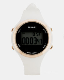 You & I Sport Watch White & Rose Gold-tone