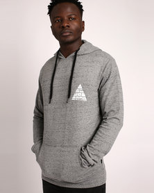 Silent Theory Cairo Fleece Hoodie Grey Marle