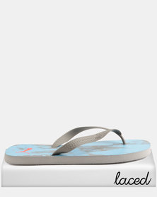 Puma First Flip Nocturnal ZADP Flip Flops Turquoise