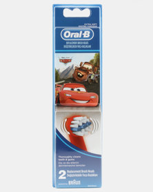 Oral B Refill Stages Kids Cars 2ct