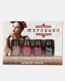 Morgan Taylor Nail Polish Matadora Collection Mini 4 Pack