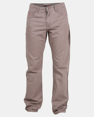 Soviet Mens Voyager 2 #5 Basic 5 Pocket Chinos Taupe