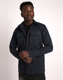 D-Struct Overshirt Navy