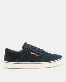 Bronx Men Bronx Men Empire Suede Sneakers Navy buy cheap Cheapest Z6RbAjN