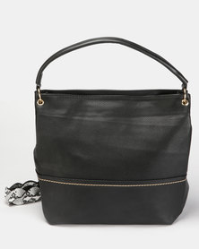Utopia Litchi Shopper Black