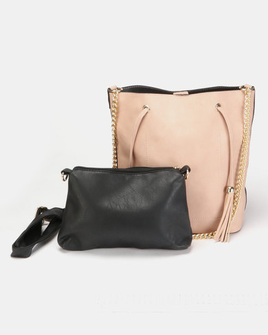 Utopia Small Structured Bag Pink