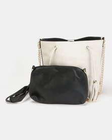Utopia Small Structured Bag Light Grey