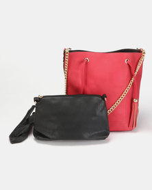 Utopia Small Structured Bag Red