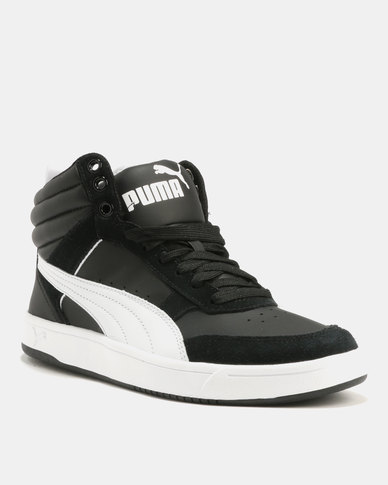 4c77c435a446 Puma Rebound Street V2 Sneakers Black White