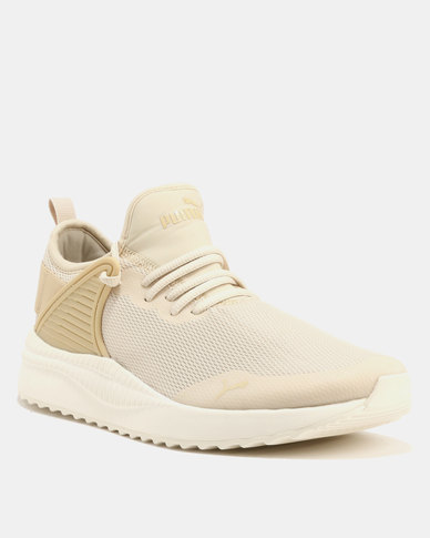 Puma Pacer Next Cage Sneakers Beige Cream  4ba2f5817