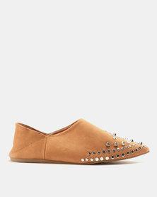 AWOL Flat Shoes Tan
