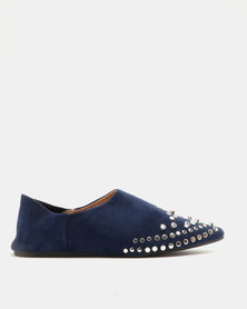 AWOL Flat Shoes Navy