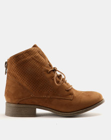 AWOL Ankle Boots Tan
