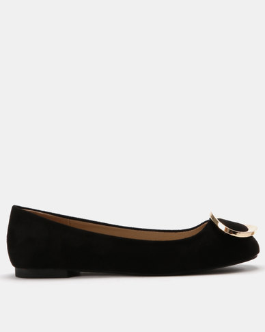 Utopia Gold Trim Pump Black