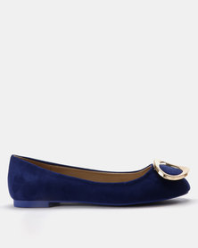 Utopia Gold Trim Pump Cobalt