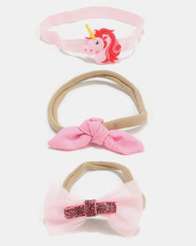 Bugsy Boo Unicorn Hair Accessories