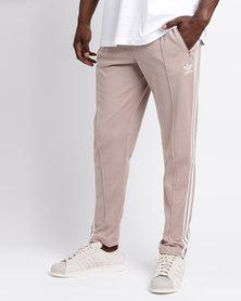 adidas Mens Beckenbauer Track Pants Blush