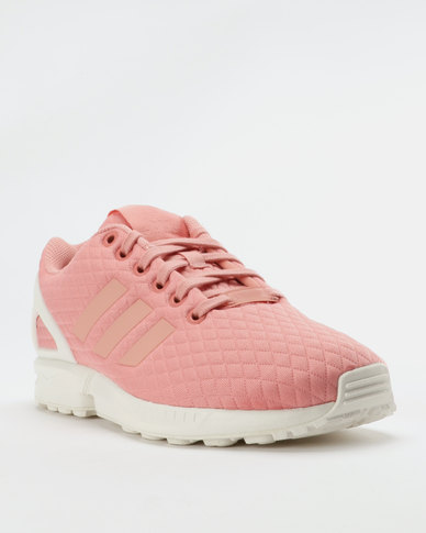 6c063a0b7 adidas ZX FLUX 1.0 Womens Sneakers Pink White