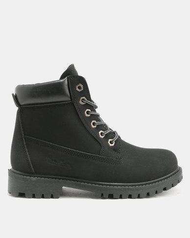 sale big discount Pierre Cardin Pierre Cardin Cleated Outsole Worker Boot Black sale sale online best prices sale online best place sale online UGQwEY