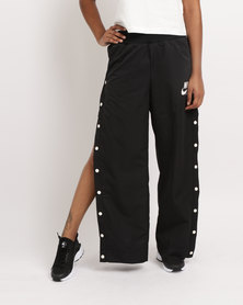 Nike Womens NSW Pant Snap Archive Black