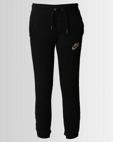 Nike Girls Modern Trackpants Black