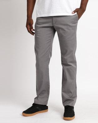 bf67333f254b6 RVCA Weekend Stretch Pants Grey