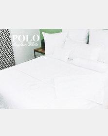 Polo Mayfair Duvet Covet Set White