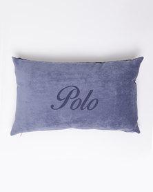 Polo Velvet Mini Laser Scatter Cushion Blue