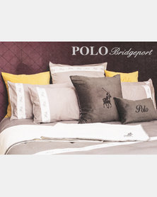 Polo Bridgeport King Pillow Case Set Neutrals