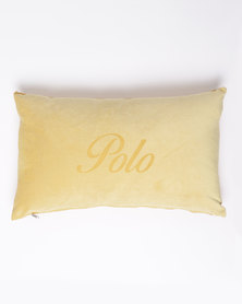 Polo Mini Laser Scatter Cushion Yellow