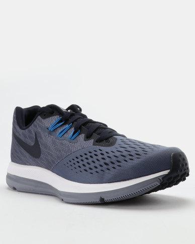 d8eb3a24e839 Nike Performance Nike Zoom WINFLO 4 Trainers Blue