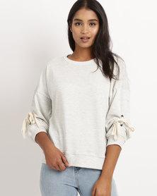 Rip Curl Trend Fleece Sweatshirt Grey