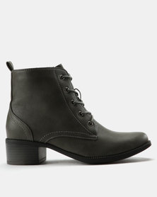 Utopia Combats Boot Grey
